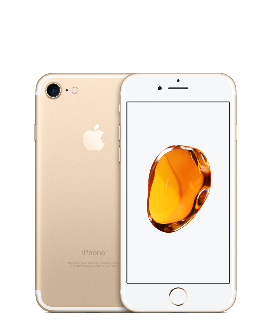 Apple iPhone 7 with FaceTime - 128GB, 4G LTE, Gold