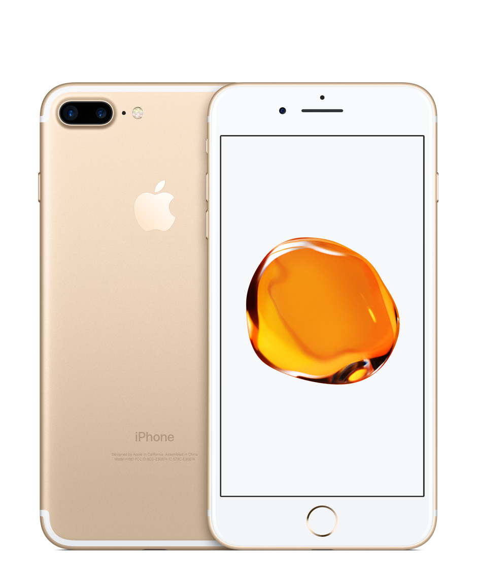 Apple iPhone 7 Plus with FaceTime - 128GB, 4G LTE- Gold