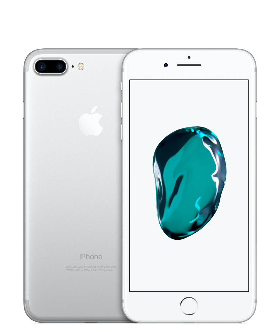Apple iPhone 7 Plus with FaceTime - 256GB, 4G LTE - Silver