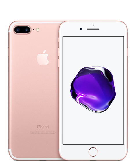 Apple iPhone 7 Plus with FaceTime - 128GB, 4G LTE- Rose Gold