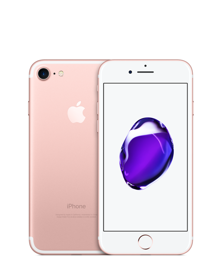 Apple iPhone 7 with FaceTime - 256GB, 4G LTE, Rose Gold