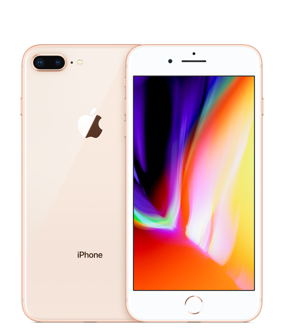 Apple iPhone 8 Plus with FaceTime - 256GB, 4G LTE, Gold