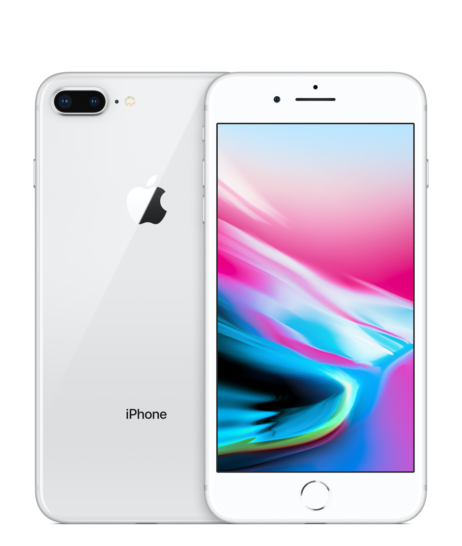 Apple iPhone 8 Plus with FaceTime - 256GB, 4G LTE, Silver