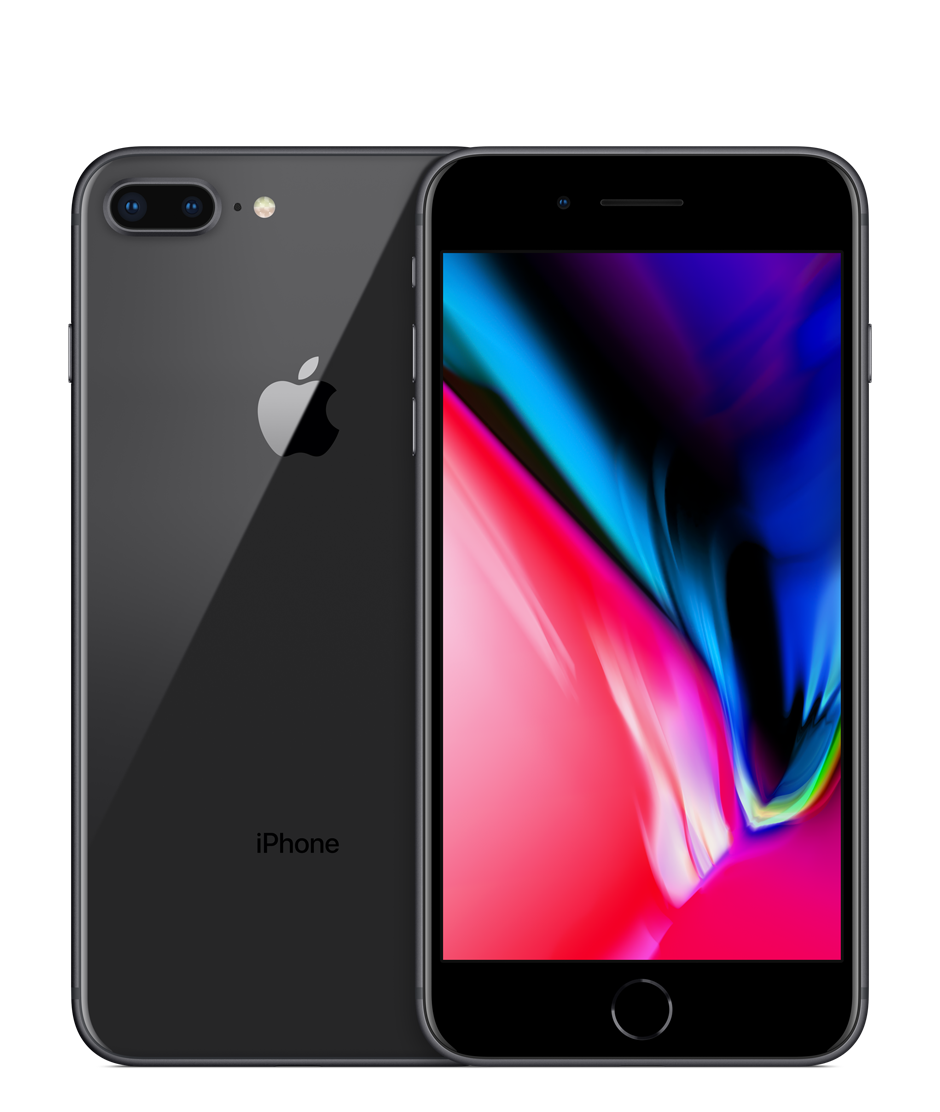 Apple iPhone 8 Plus with FaceTime - 64GB, 4G LTE, Space Gray