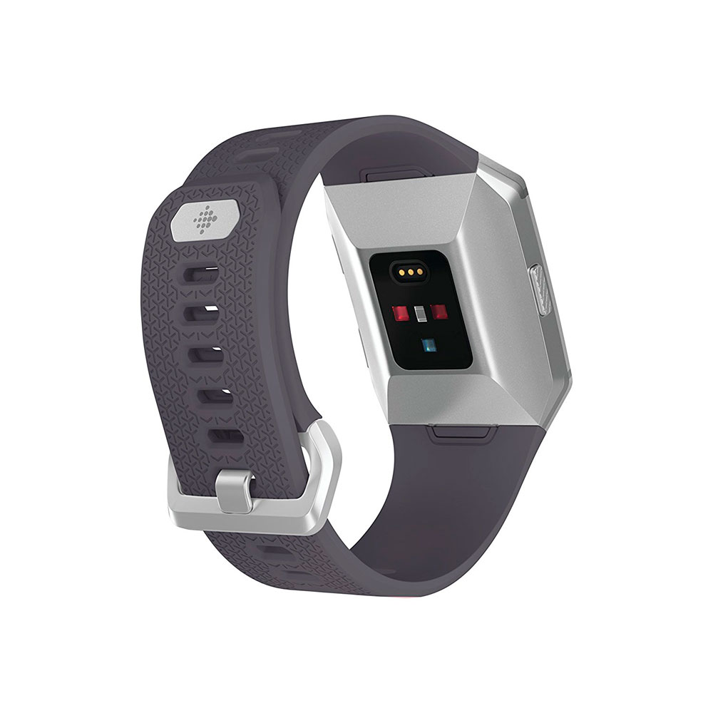 Fitbit Ionic Fitness Wristband with Heart Rate Tracker - Blue-Gray/White ( S/L ) (FB503WTGY)