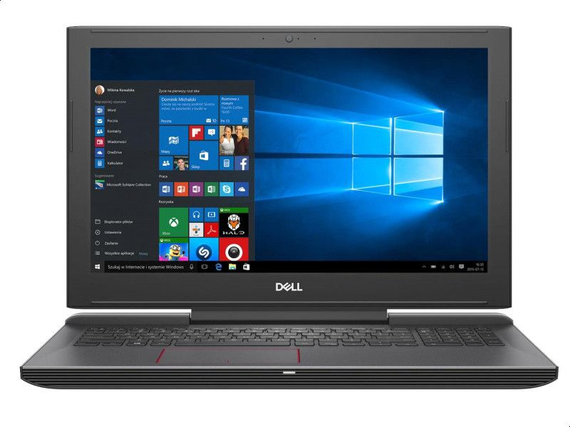 Dell Inspiron G5 Notebook, Intel Core i9-8950HK, 15.6 Inch, 16GB RAM, 1TB, 256 SSD, NVIDIA GTX1060 6GB, Dos, Black