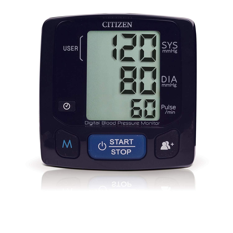 Citizen CH-618 Wrist Digital Blood Pressure Monitor