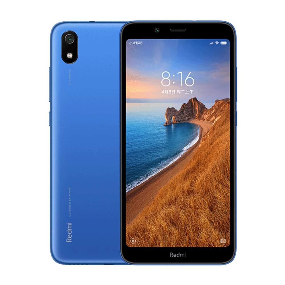 Xiaomi Redmi 7A Dual SIM - 16GB, 2GB RAM, 4G LTE, Matte Blue Global Versia