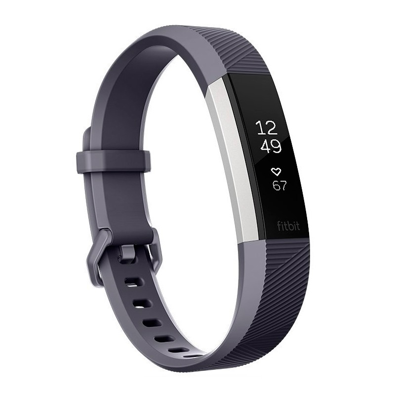 Fitbit Alta HR Fitness Wristband with Heart Rate Tracker - Gray ( L ) (FB408SGYL)