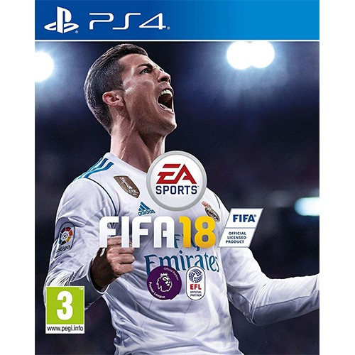 FIFA 18 Standard Edition for Sony PlayStation 4 (R2)
