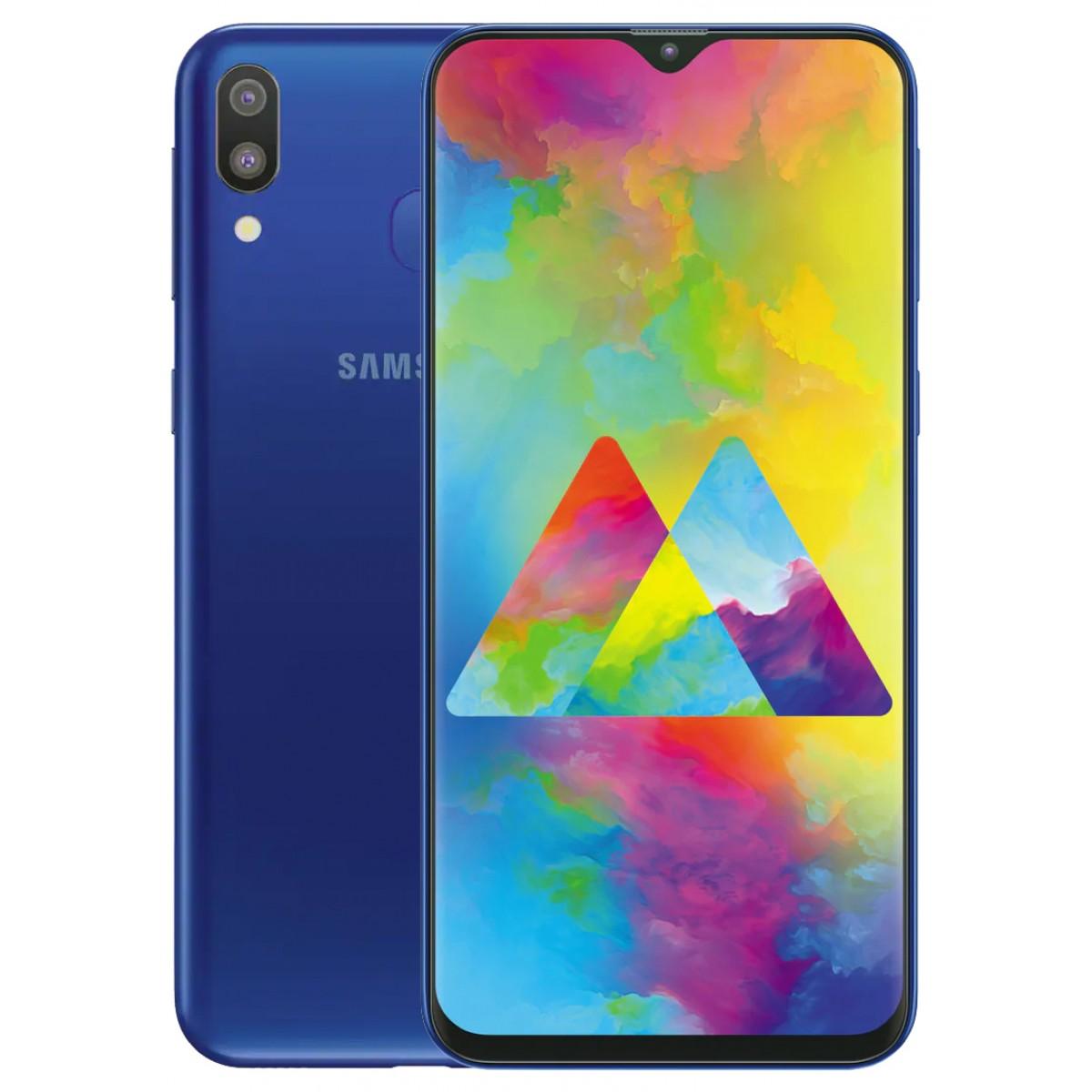 Samsung Galaxy M20 Dual SIM - 32GB 3GB RAM 4G LTE Ocean Blue