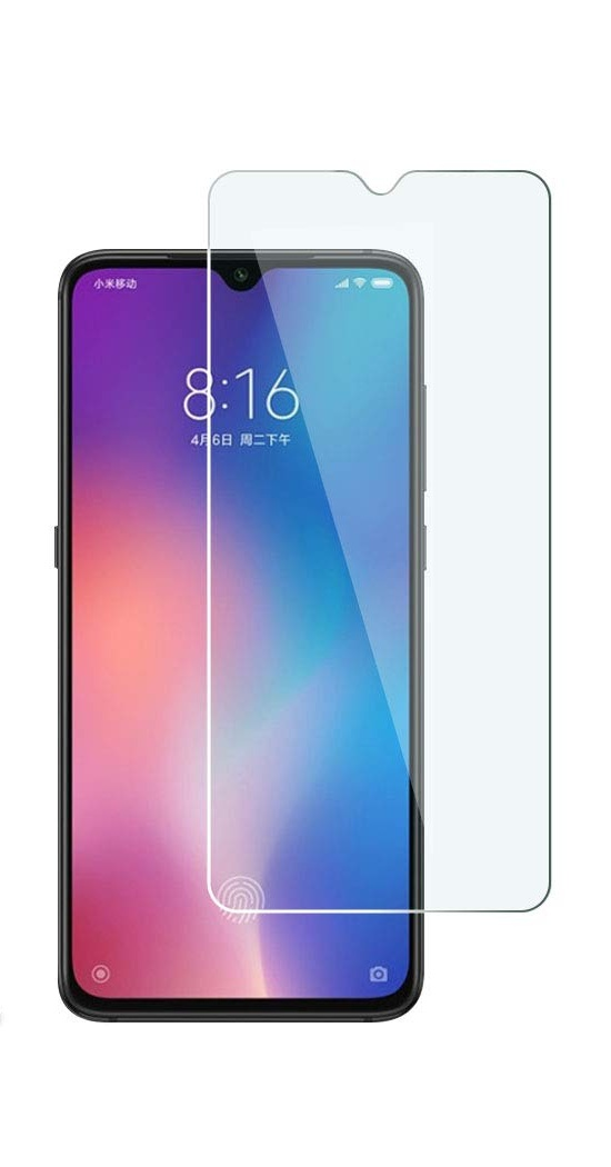 Itell Tempered Glass Screen Protector For Xiaomi Mi 9 Clear