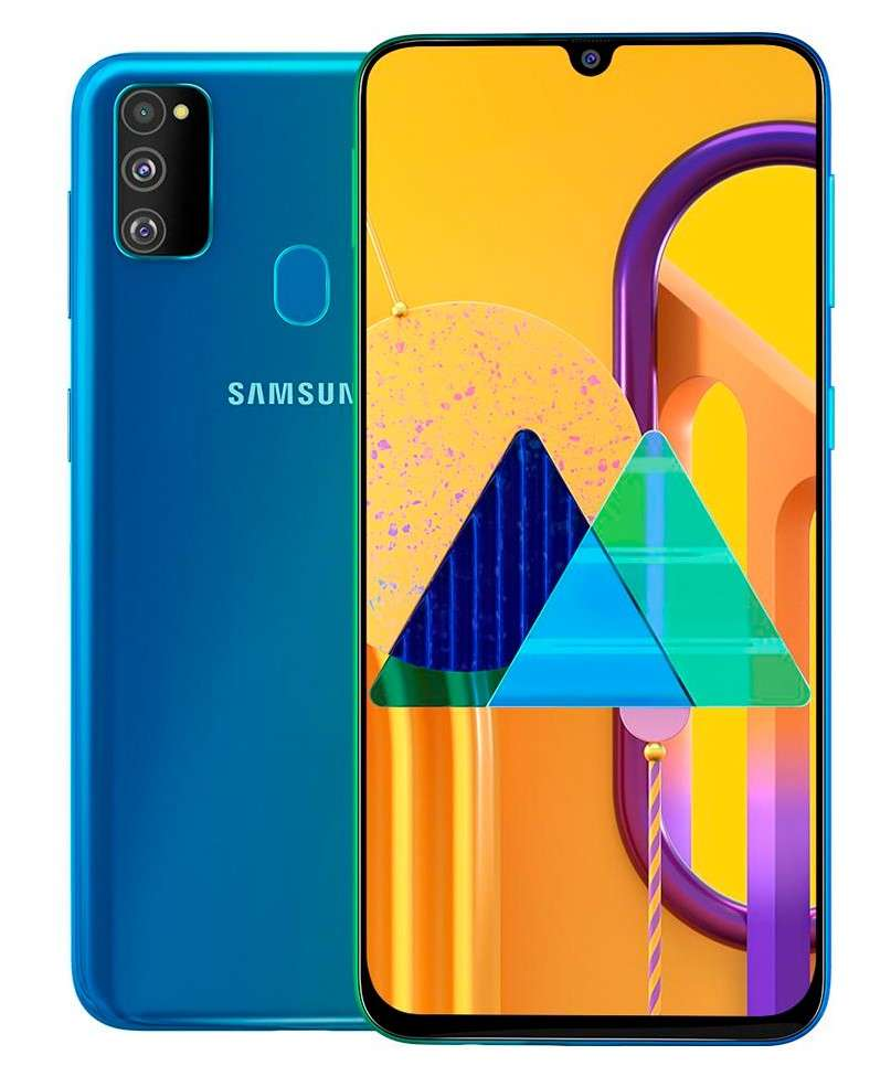 Samsung Galaxy M30s Dual SIM - 64 GB, 4 GB RAM, 4G LTE - Sapphire Blue