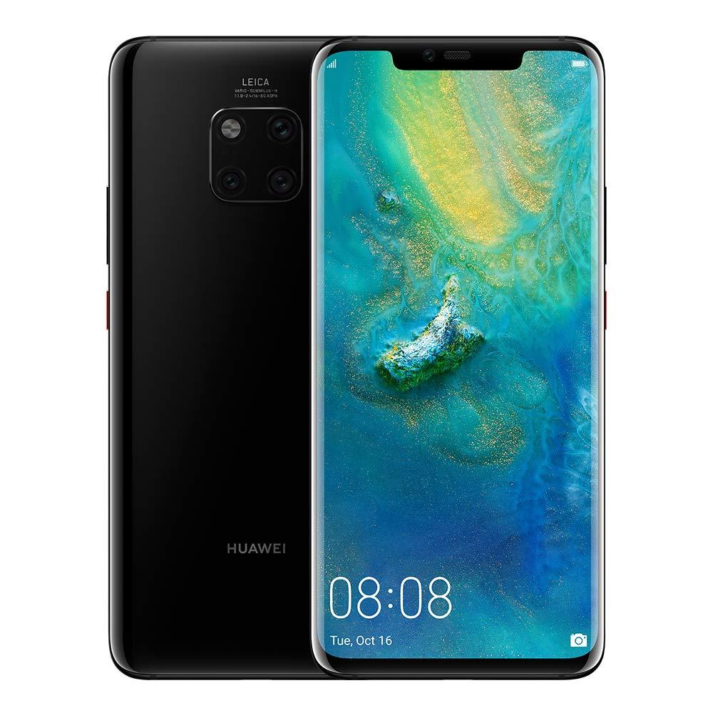 Huawei Mate 20 Pro Dual Sim - 128GB, 4G LTE, Black