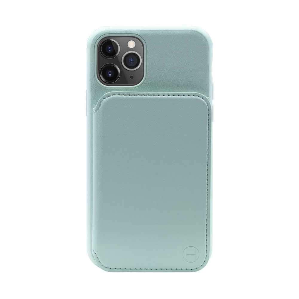 Habitu Odessa Mirror Folio Case for iPhone 11 Pro - Mint