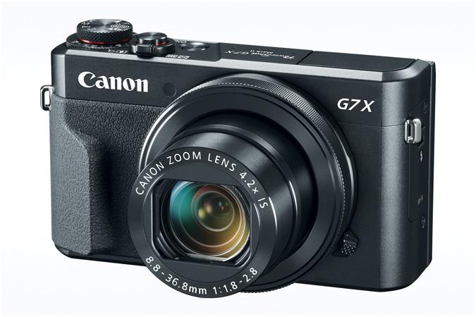 Canon PowerShot G7 X Mark II Digital Camera (Black)