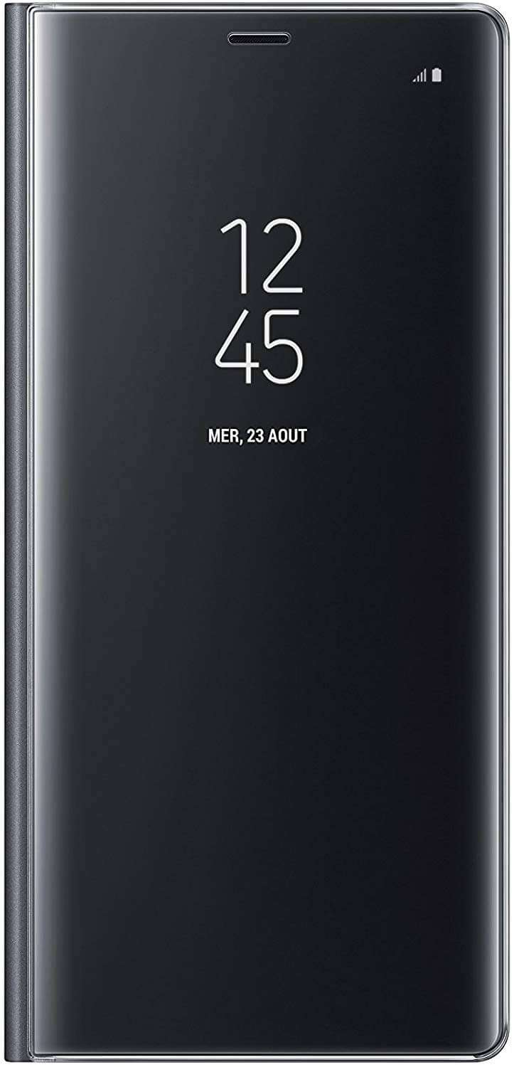 Samsung Galaxy Note 8 Clear View Standing Cover - Black