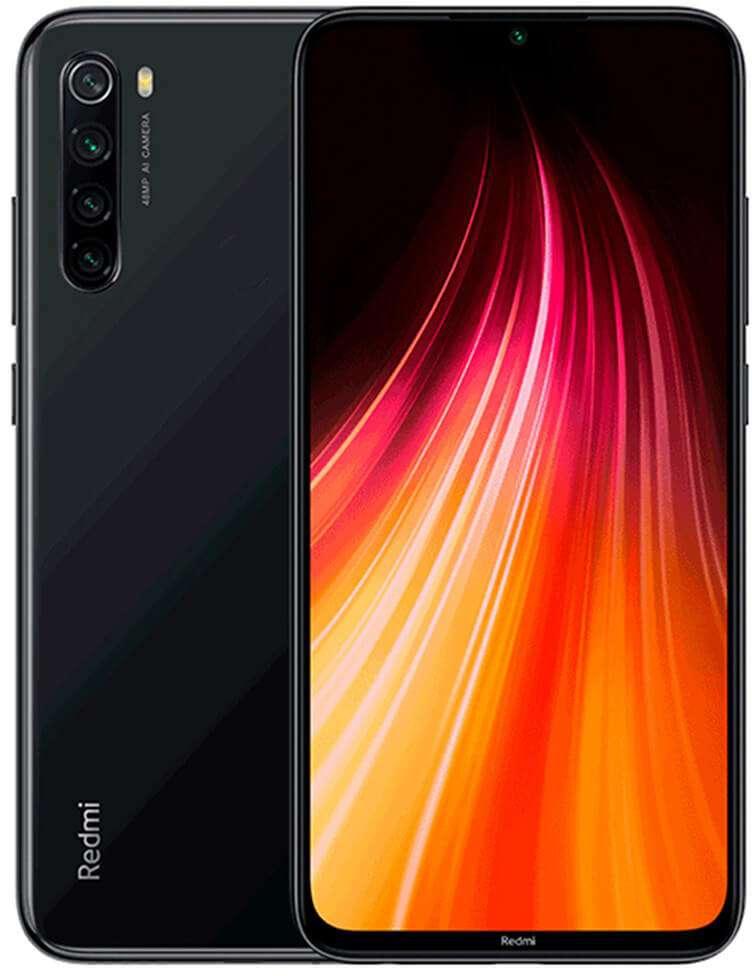 Xiaomi Redmi Note 8 Dual SIM - 32GB, 3GB RAM, 4G LTE,Black Global Versia