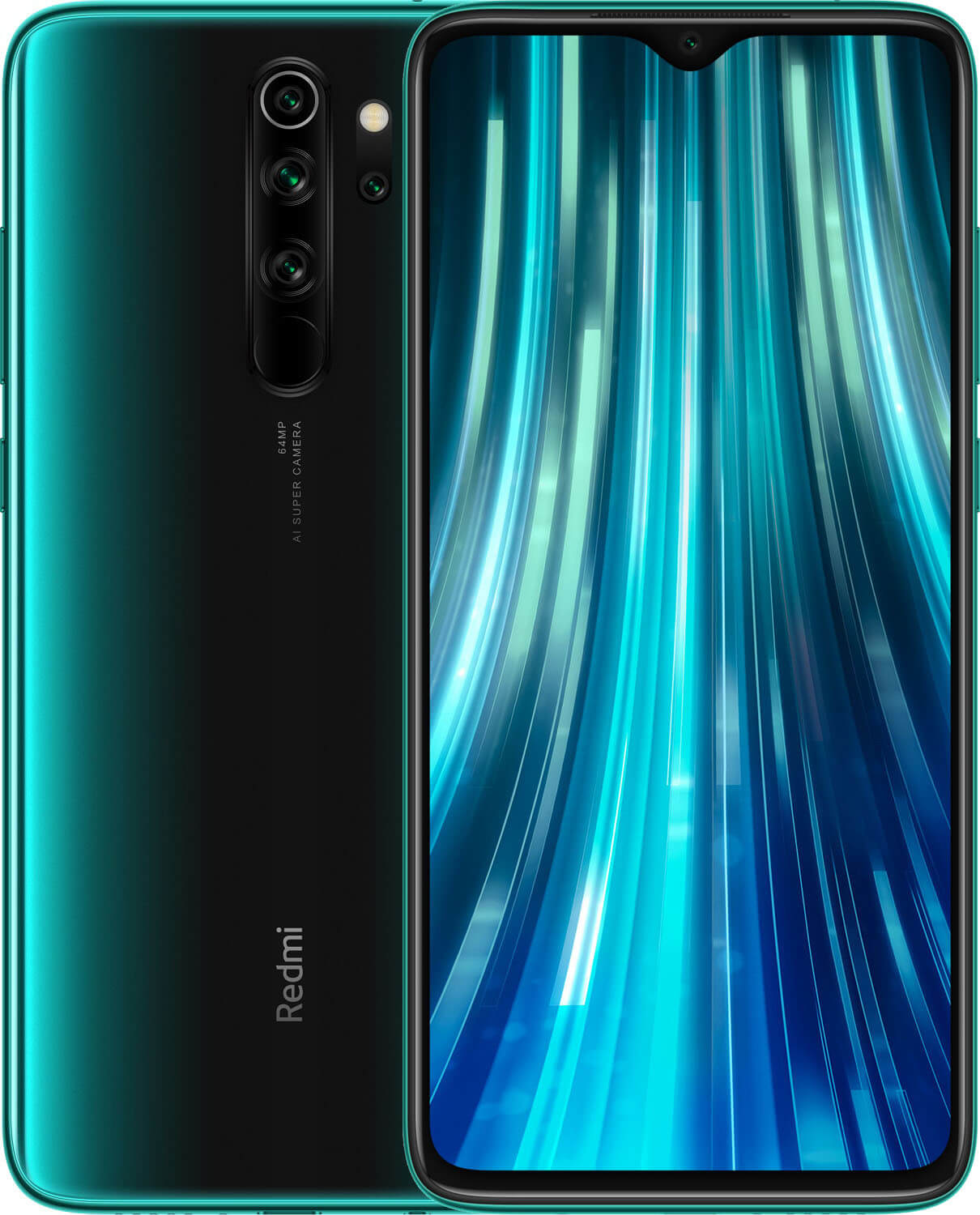 Xiaomi Redmi Note 8 PRO Dual SIM - 128GB, 6GB RAM, 4G LTE, Forest Green Global Versia