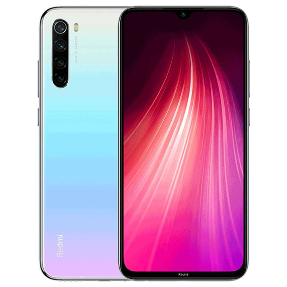 Xiaomi Redmi Note 8 Dual SIM - 32GB, 3GB RAM, 4G LTE,White Global Versia