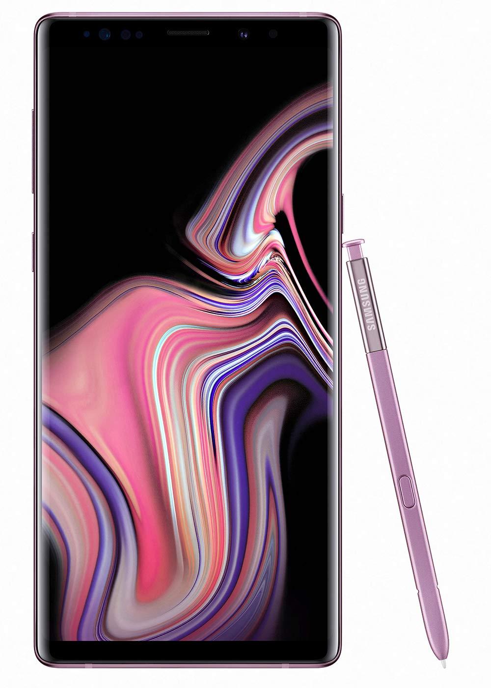 Samsung Galaxy Note 9 Dual SIM - 512GB, 8GB RAM, 4G LTE, Lavender Purple