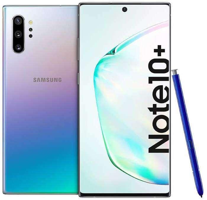 Samsung Galaxy Note 10+ Dual SIM - 512GB,12GB RAM, 4G LTE, Aura Glow