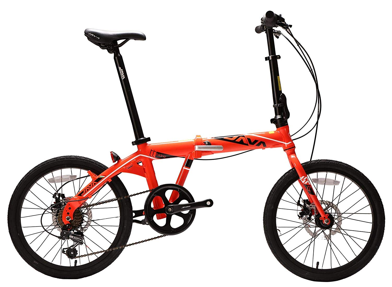 JAVA TT7 Foldable Bike 20-inch Orange