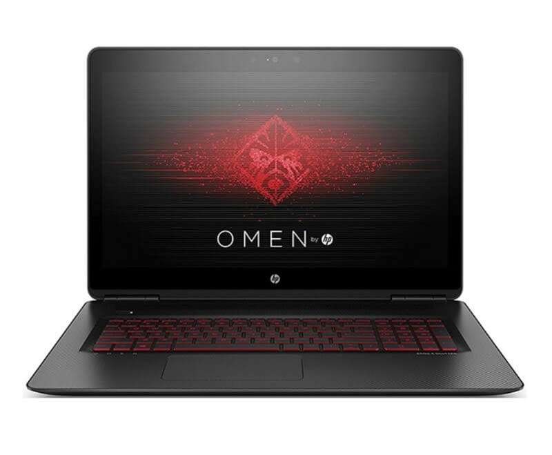 hp Omen 17 With 17-Inch Display, Core i7 Processor/16GB RAM/1TB HDD+128GB SSD Hybrid Drive/NVIDIA GeForce GTX 1050 Graphics Black