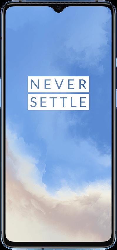 OnePlus 7T - 128GB, 8GB RAM, 4G LTE Glacier Blue