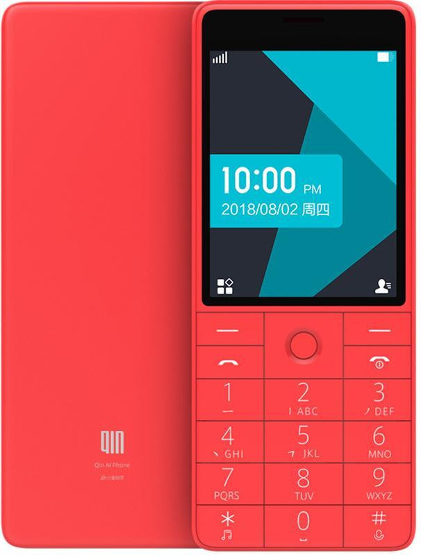 QIN 1S 4G Feature Phone - Red