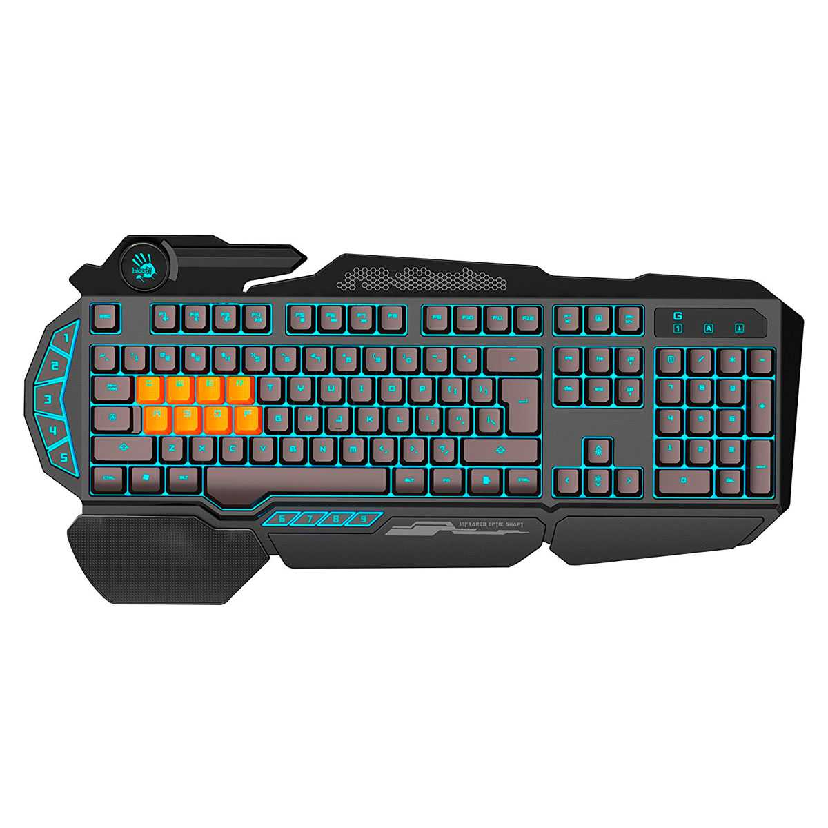 Bloody B318 8 Light Strike Gaming Keyboard