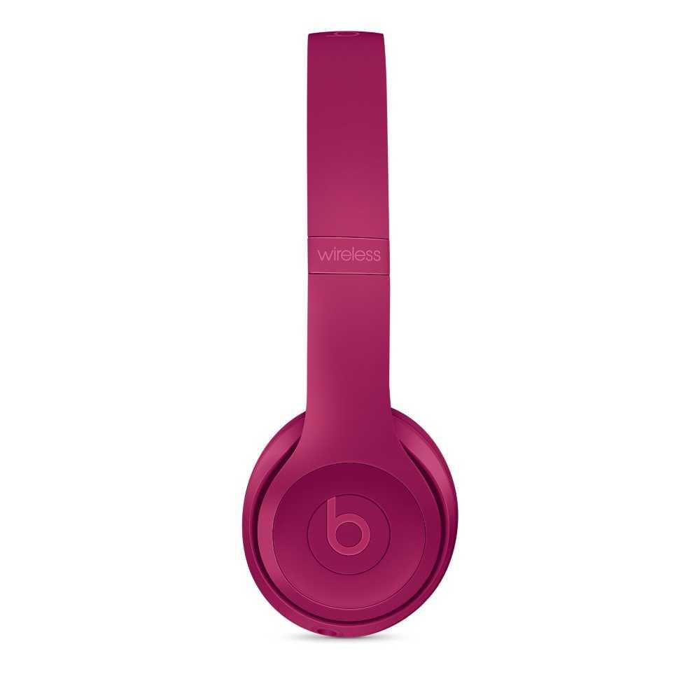 Beats Solo 3 Wireless Over-ear Headphone - Brick Red (A1796-BRD)