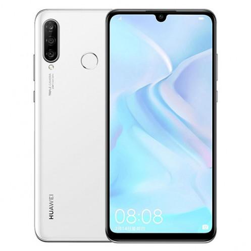 Huawei P30 lite Dual SIM - 128GB, 6GB RAM, 4G LTE, Pearl White