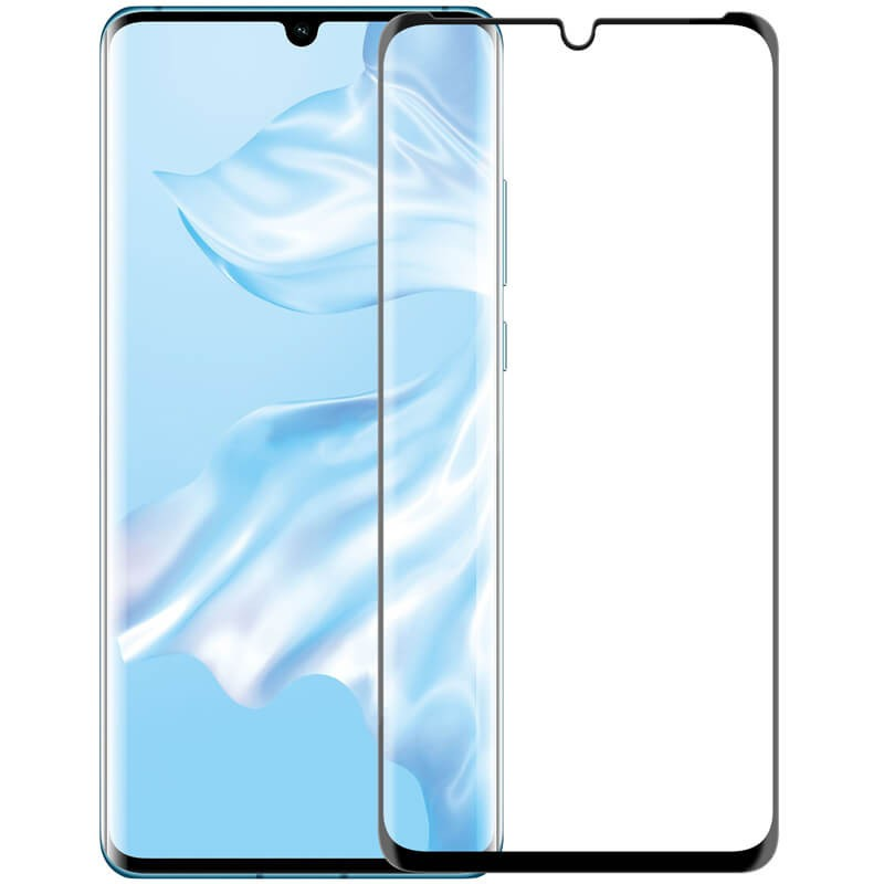 3D Full Coverage Tempered Glass Screen Protector For Huawei P30 Pro