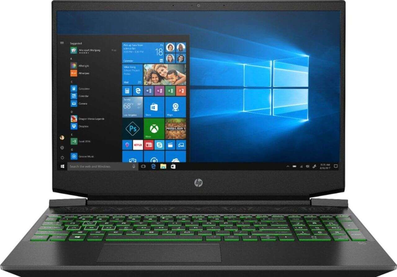 HP PAVILION 15-EC0013 GAMING AMD RYZEN 5 3550 2.1GHZ 256GB SSD 8GB 15.6' (1920*1080) W10 NVIDIA GTX 1050 3072MB SHADOW BLACK BKLIT 1YR