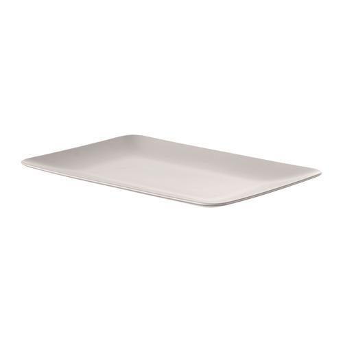 DINERA Plate, beige, 30x20 cm
