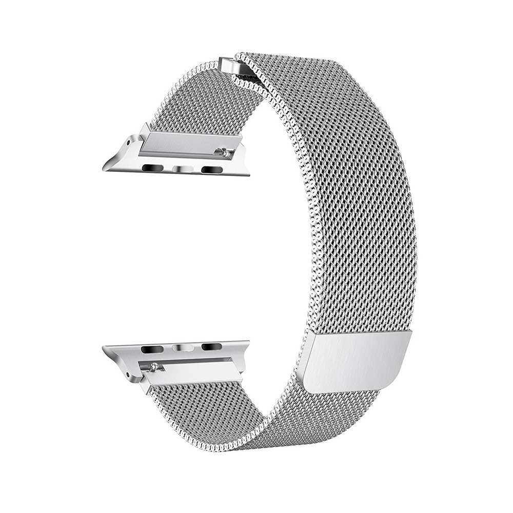Porodo Mesh Band for Apple Watch 40mm / 38mm - Silver