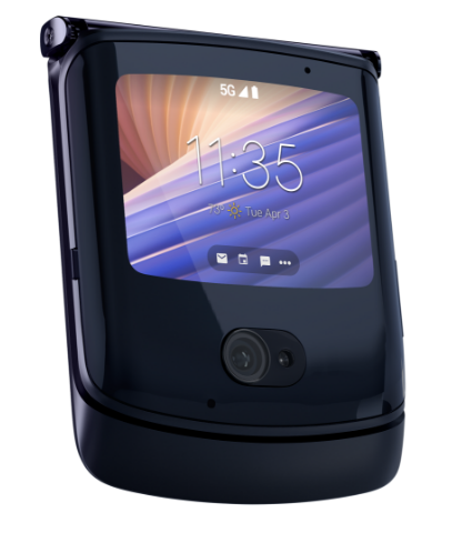 Motorola Moto Razr 5G 8GB RAM, 256GB Polished Graphite