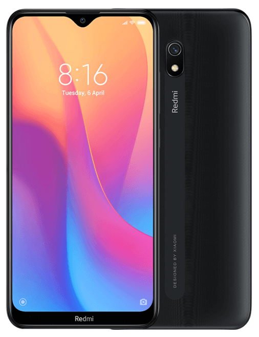 Xiaomi Redmi 8A Dual SIM - 32GB, 2GB RAM, 4G LTE, Midnight Black Global Versia