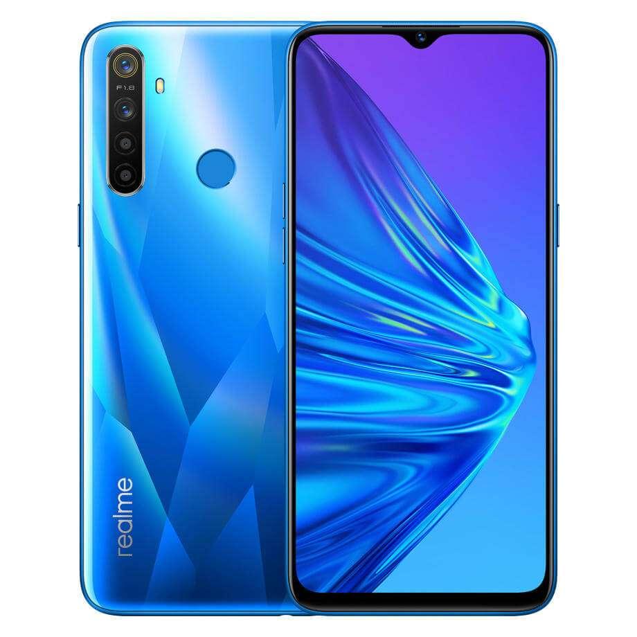 Realme 5 Dual SIM 4GB RAM 128GB 4G LTE Crystal Blue