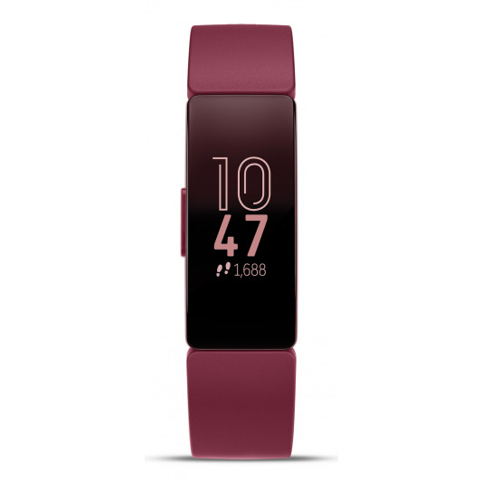 Fitbit Inspire Fitness Wristband with Heart Rate Tracker - Sangria/Sangria (FB412BYBY)