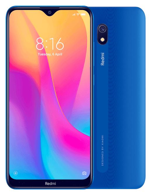 Xiaomi Redmi 8A Dual SIM - 32GB, 2GB RAM, 4G LTE, Ocean Blue Global Versia