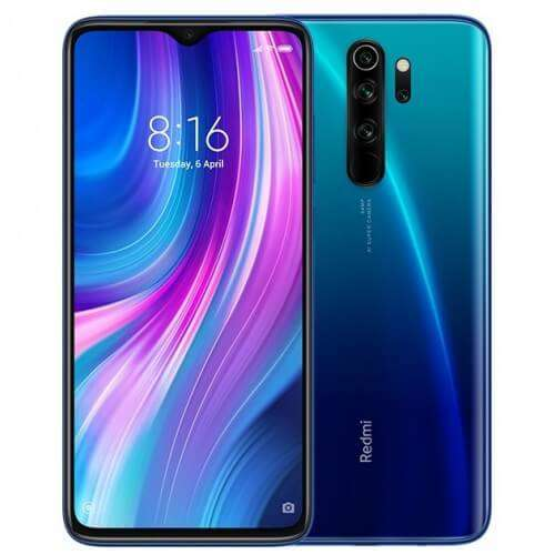 Xiaomi Redmi Note 8 PRO Dual SIM - 64GB, 6GB RAM, 4G LTE, Deep Blue Global Versia