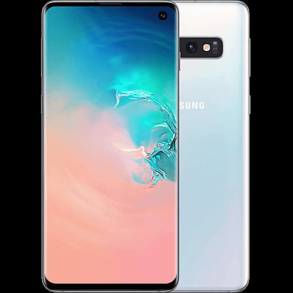 Samsung Galaxy S10 Dual Sim - 128GB, 8GB, 4G LTE,Prism White