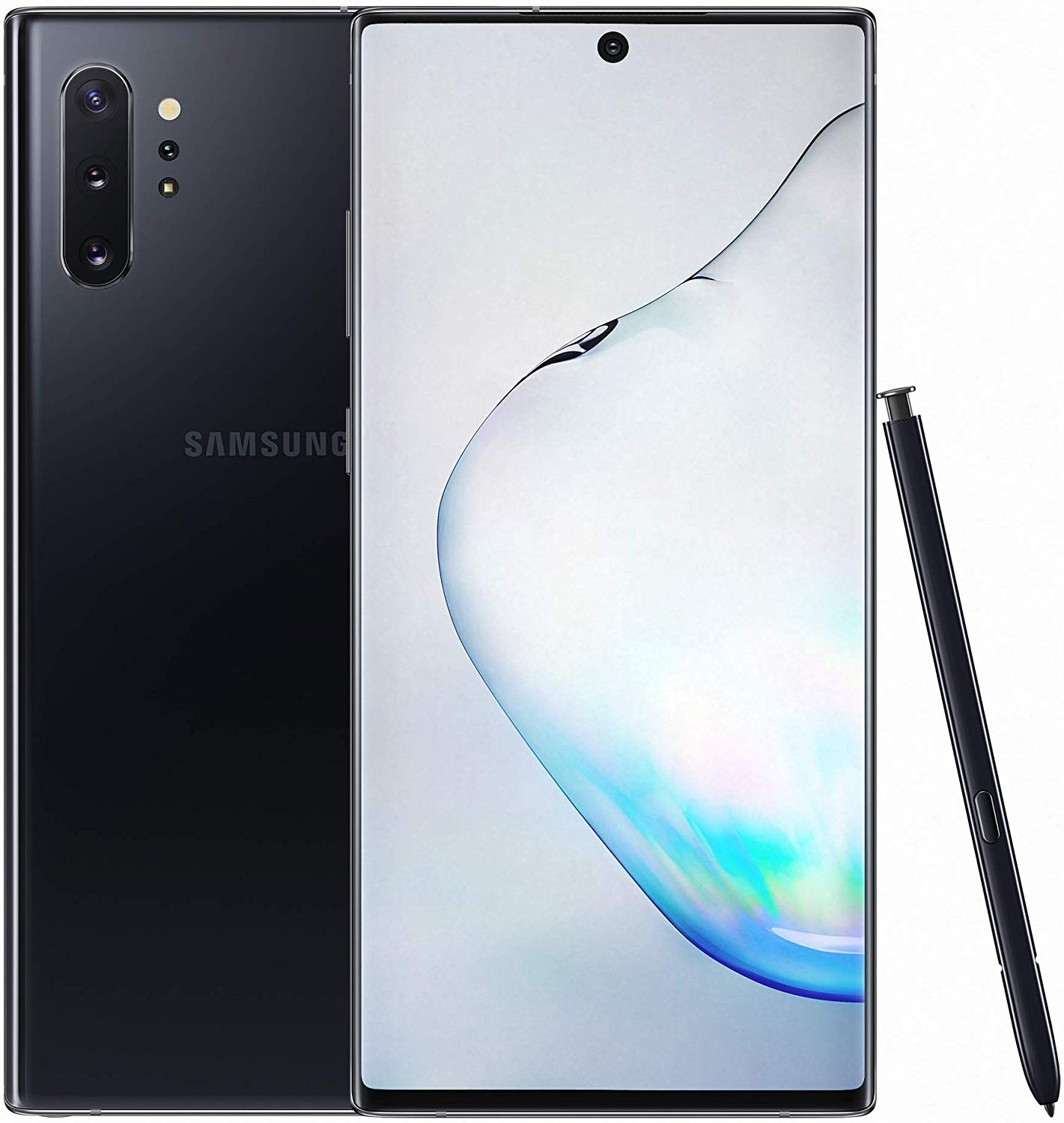 Samsung Galaxy Note 10+ Dual SIM - 256GB, 12GB RAM, Aura Black