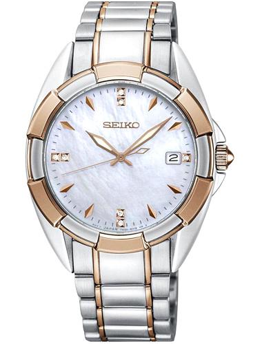 Seiko Quartz Diamond Accents SKK888P1 Women's Watch