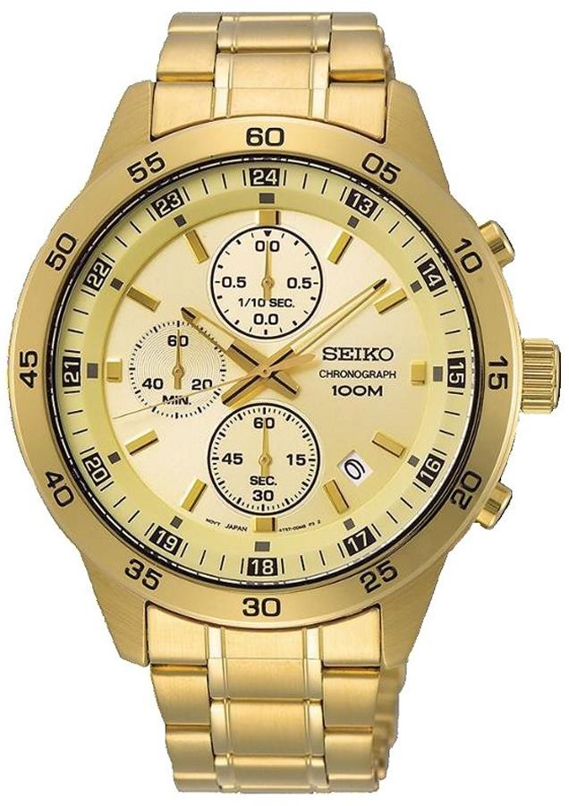 Seiko Chronograph SKS646P1 Quartz Analog Men's Watch