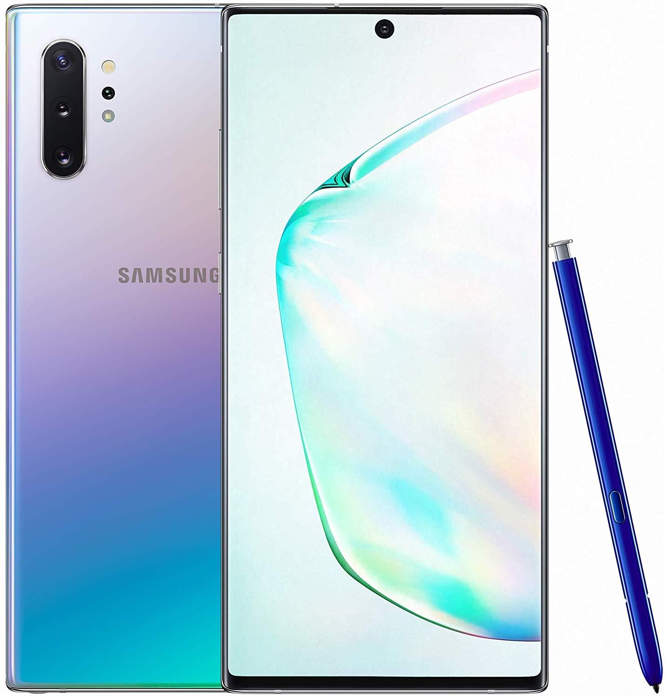 Samsung Galaxy Note 10+ Dual SIM - 256GB, 12GB RAM, Aura Glow
