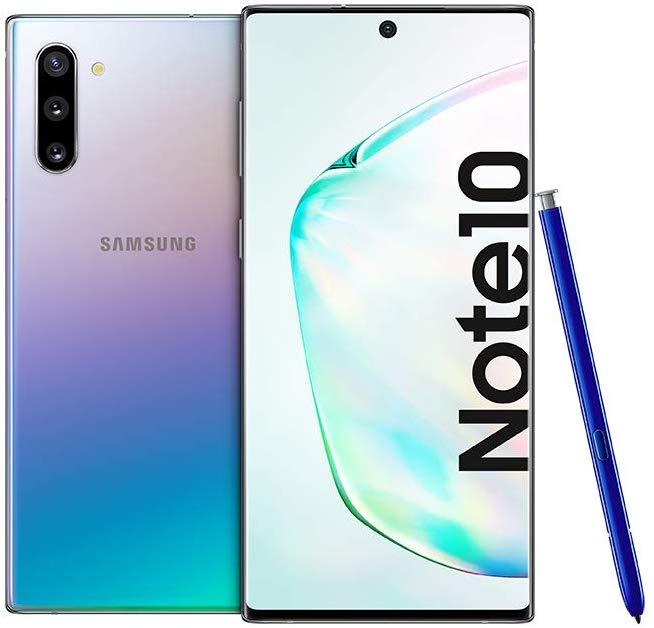 Samsung Galaxy Note 10 Dual SIM - 256GB, 8GB RAM Aura Glow