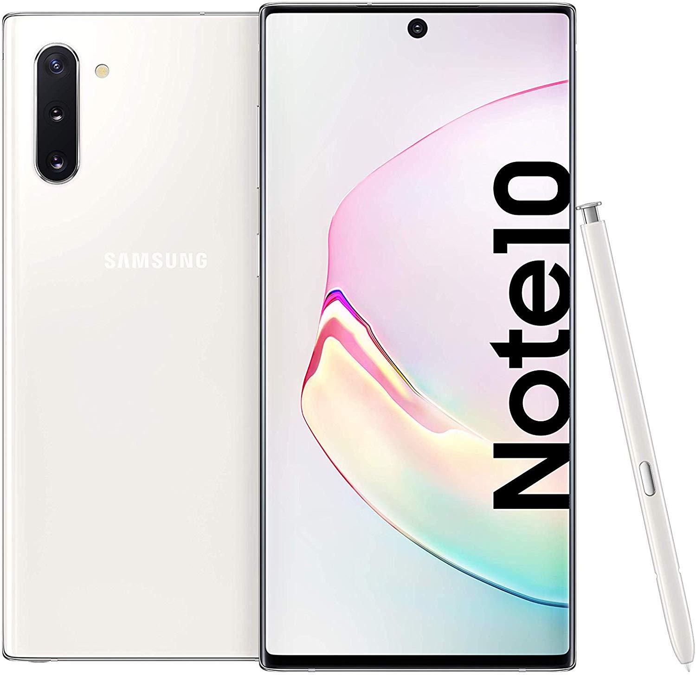 Samsung Galaxy Note 10 Dual SIM - 256GB, 8GB RAM Aura White